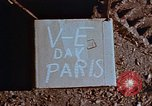Image of Allied flags Paris France, 1945, second 6 stock footage video 65675049774