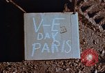 Image of Allied flags Paris France, 1945, second 9 stock footage video 65675049774