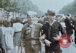 Image of American soldier Paris France, 1945, second 1 stock footage video 65675049777