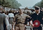Image of American soldier Paris France, 1945, second 2 stock footage video 65675049777