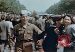 Image of American soldier Paris France, 1945, second 3 stock footage video 65675049777