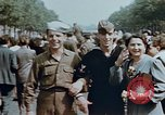Image of American soldier Paris France, 1945, second 4 stock footage video 65675049777