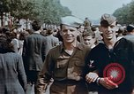 Image of American soldier Paris France, 1945, second 6 stock footage video 65675049777
