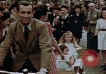 Image of American soldier Paris France, 1945, second 9 stock footage video 65675049778