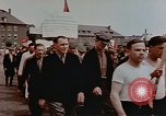 Image of Placard of Stalin Wiesbaden Germany, 1945, second 5 stock footage video 65675049786