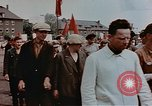 Image of Placard of Stalin Wiesbaden Germany, 1945, second 9 stock footage video 65675049786