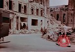 Image of bomb damage Wiesbaden Germany, 1945, second 5 stock footage video 65675049788