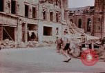 Image of bomb damage Wiesbaden Germany, 1945, second 6 stock footage video 65675049788