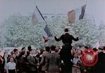 Image of Allied flags Paris France, 1945, second 8 stock footage video 65675049790