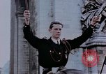 Image of Allied flags Paris France, 1945, second 10 stock footage video 65675049790