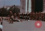 Image of Tomb of Unknown Soldier Paris France, 1945, second 8 stock footage video 65675049793