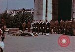 Image of Tomb of Unknown Soldier Paris France, 1945, second 9 stock footage video 65675049793