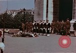 Image of Tomb of Unknown Soldier Paris France, 1945, second 10 stock footage video 65675049793