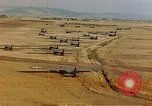 Image of Allied invasion gliders and C-47 tow planes parked France, 1944, second 2 stock footage video 65675049825
