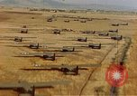 Image of Allied invasion gliders and C-47 tow planes parked France, 1944, second 4 stock footage video 65675049825