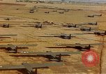 Image of Allied invasion gliders and C-47 tow planes parked France, 1944, second 5 stock footage video 65675049825