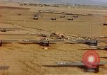 Image of Allied invasion gliders and C-47 tow planes parked France, 1944, second 6 stock footage video 65675049825