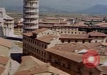 Image of  aerial views of Leaning Tower and Piazza del Duomo Pisa Italy, 1944, second 10 stock footage video 65675049827