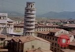 Image of  aerial views of Leaning Tower and Piazza del Duomo Pisa Italy, 1944, second 11 stock footage video 65675049827