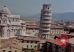 Image of  aerial views of Leaning Tower and Piazza del Duomo Pisa Italy, 1944, second 12 stock footage video 65675049827