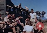 Image of Airmen of the 65th Fighter Squadron having some fun France, 1944, second 2 stock footage video 65675049830