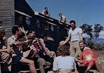 Image of Airmen of the 65th Fighter Squadron having some fun France, 1944, second 5 stock footage video 65675049830