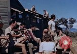 Image of Airmen of the 65th Fighter Squadron having some fun France, 1944, second 6 stock footage video 65675049830