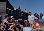 Image of Airmen of the 65th Fighter Squadron having some fun France, 1944, second 10 stock footage video 65675049830