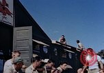 Image of Airmen of the 65th Fighter Squadron having some fun France, 1944, second 11 stock footage video 65675049830