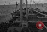 Image of Convoy of troops and supplies from America to England in World War 2 Atlantic Ocean, 1944, second 8 stock footage video 65675049845