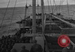 Image of Convoy of troops and supplies from America to England in World War 2 Atlantic Ocean, 1944, second 9 stock footage video 65675049845