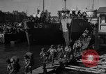 Image of Landing Craft Infantry Large offload American troops in Weymouth England Weymouth England, 1944, second 8 stock footage video 65675049850