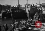 Image of Landing Craft Infantry Large offload American troops in Weymouth England Weymouth England, 1944, second 10 stock footage video 65675049850