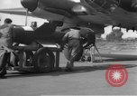 Image of German HE-111 plane Germany, 1945, second 10 stock footage video 65675049855