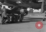 Image of German HE-111 plane Germany, 1945, second 12 stock footage video 65675049855