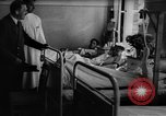 Image of Adolf Hitler visits July 20th bomb plot victims in hospital Rastenburg Germany, 1944, second 10 stock footage video 65675049858