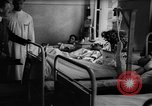 Image of Adolf Hitler visits July 20th bomb plot victims in hospital Rastenburg Germany, 1944, second 11 stock footage video 65675049858