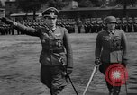Image of Otto-Ernst Remer reviews troops Berlin Germany, 1944, second 9 stock footage video 65675049859