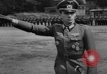 Image of Otto-Ernst Remer reviews troops Berlin Germany, 1944, second 11 stock footage video 65675049859