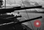 Image of German warships underway to intercept Allied convoys to Russia Norway, 1942, second 9 stock footage video 65675049873