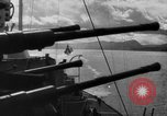 Image of German warships underway to intercept Allied convoys to Russia Norway, 1942, second 11 stock footage video 65675049873