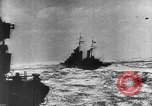 Image of Axis warships attack Alllied convoy Mediterranean Sea, 1939, second 10 stock footage video 65675049874