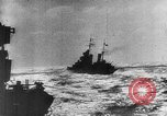 Image of Axis warships attack Alllied convoy Mediterranean Sea, 1939, second 11 stock footage video 65675049874