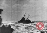 Image of Axis warships attack Alllied convoy Mediterranean Sea, 1939, second 12 stock footage video 65675049874