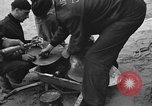 Image of damaged propeller France, 1944, second 8 stock footage video 65675049899