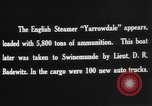 Image of British steamers Yarrowdale and St.Theodore seized Atlantic Ocean, 1916, second 12 stock footage video 65675049914