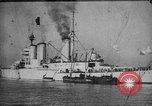 Image of Lion-class British Battle Cruiser Orkney Islands Scotland, 1918, second 7 stock footage video 65675049919