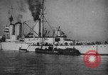 Image of Lion-class British Battle Cruiser Orkney Islands Scotland, 1918, second 11 stock footage video 65675049919