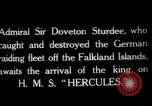 Image of King George V Orkney Islands Scotland, 1917, second 1 stock footage video 65675049921