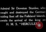 Image of King George V Orkney Islands Scotland, 1917, second 2 stock footage video 65675049921